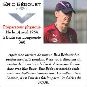 Fiche Staff Eric Bedouet
