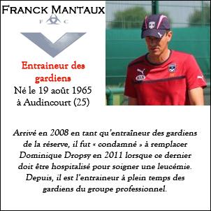 Fiche Staff Franck Mantaux