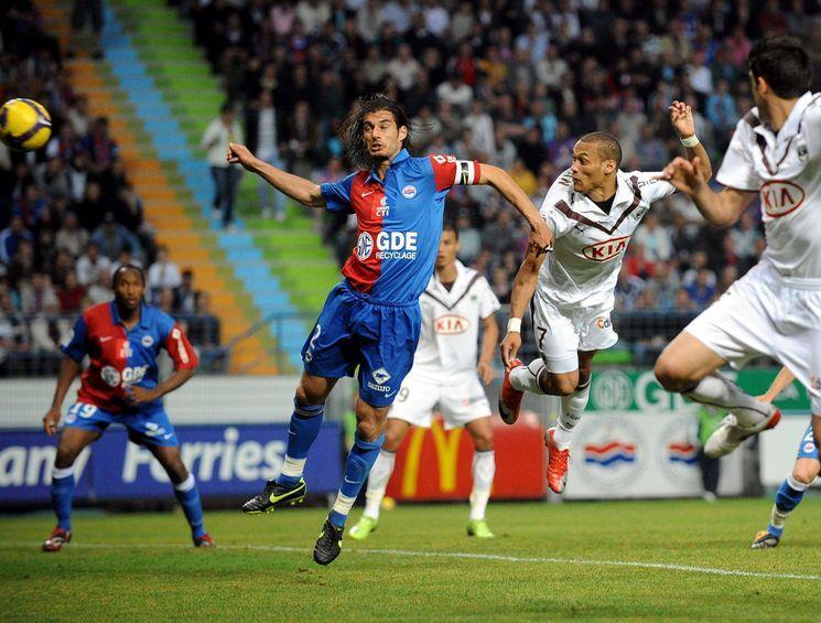FOOT : CAEN / BORDEAUX – Ligue 1 – 30/05/2009 – BUT Yoan GOUFFRAN –