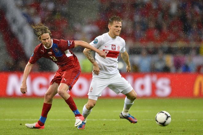 Czech midfielder Jaroslav Plasil