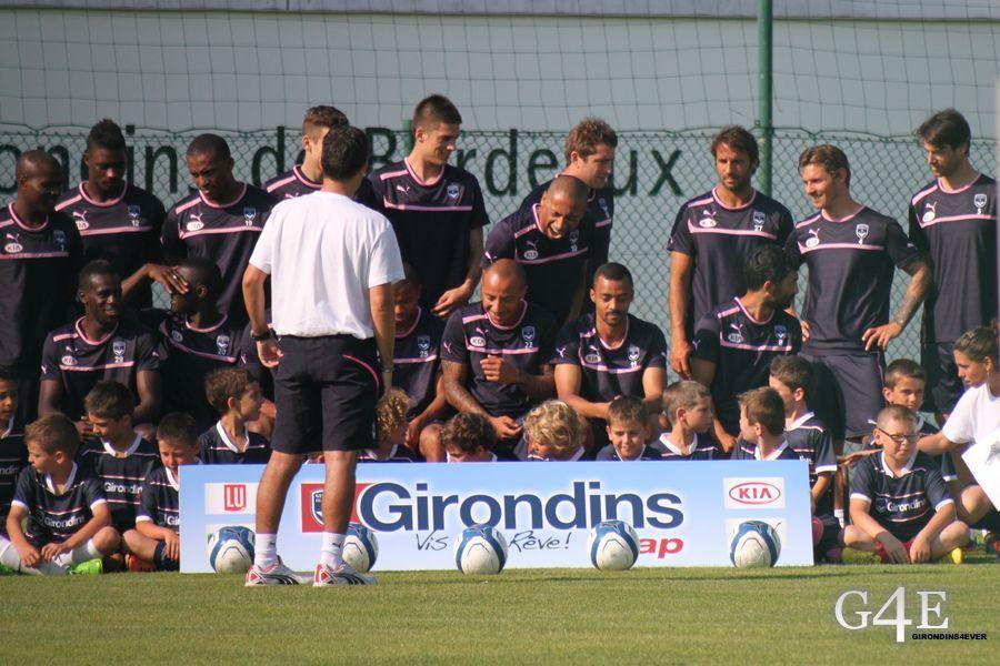 Groupe photo Cap Girondins