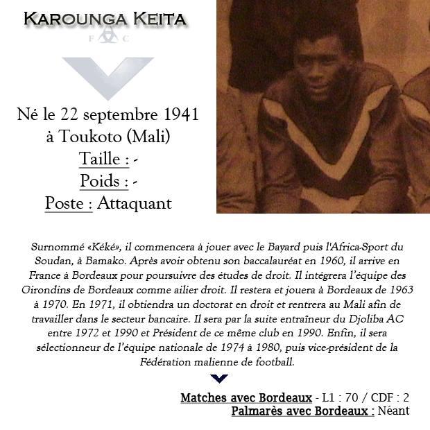 fiche Keita Karounga