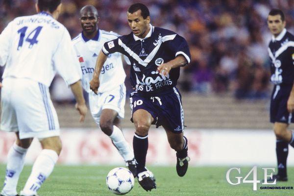 Ali Benarbia joueur Bordeaux