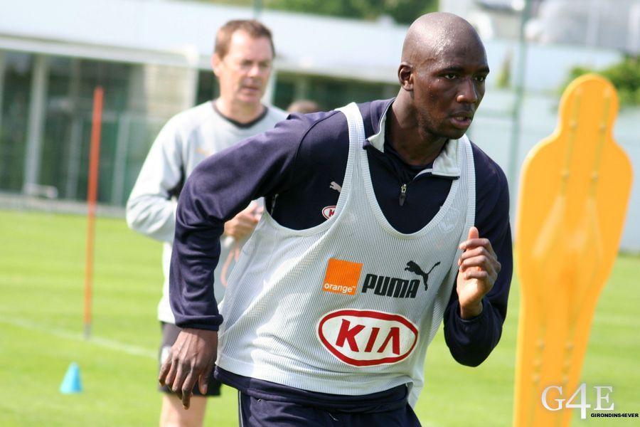 Alou Diarra entrainement Bordeaux