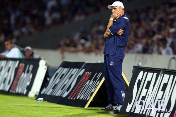Elie Baup coach Bordeaux