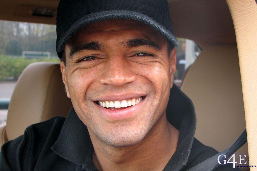 Denilson sourire voiture Bordeaux