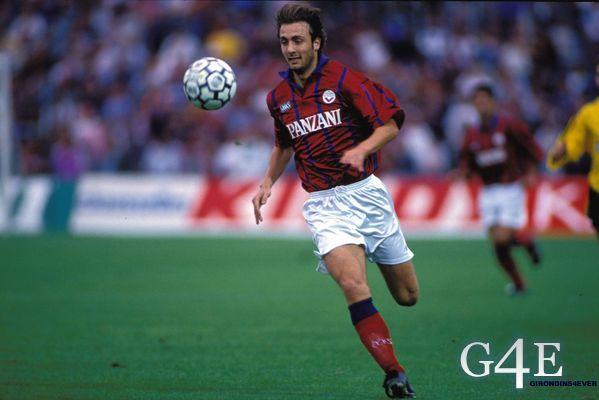 Dugarry Christophe joueur Bordeaux