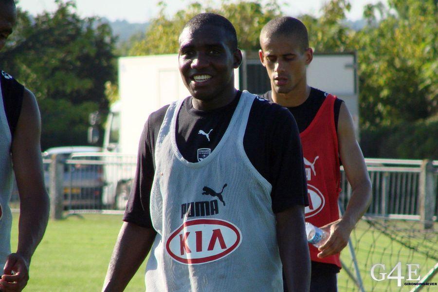 Edixon Perea entrainement Bordeaux