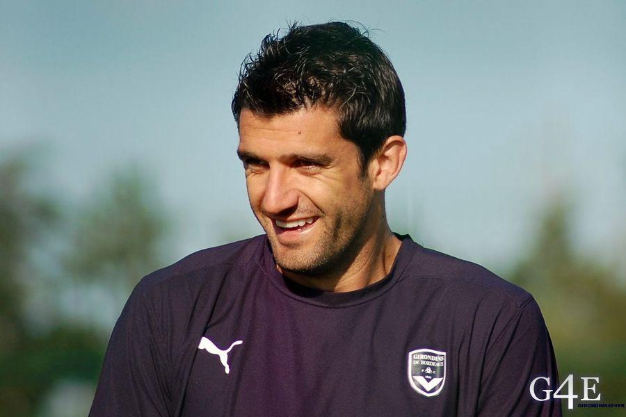 Fernando Menegazzo sourire entrainement