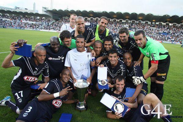 Joie Bordeaux Groupe Trophée des Champions