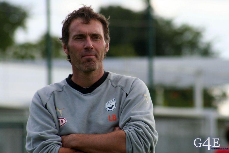 Laurent Blanc bras croisés Bordeaux