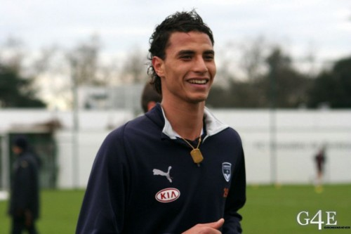 Marouane Chamakh sourire footing