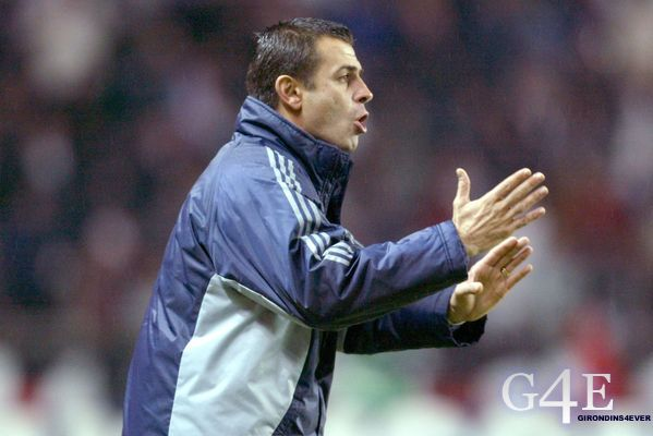 Michel Pavon coach Bordeaux