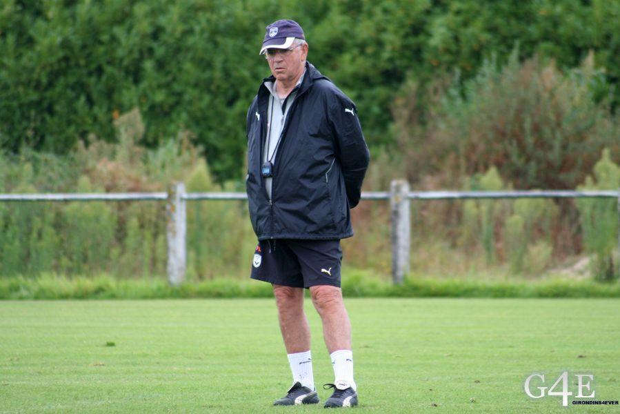 Pierre Labat entrainement Bordeaux
