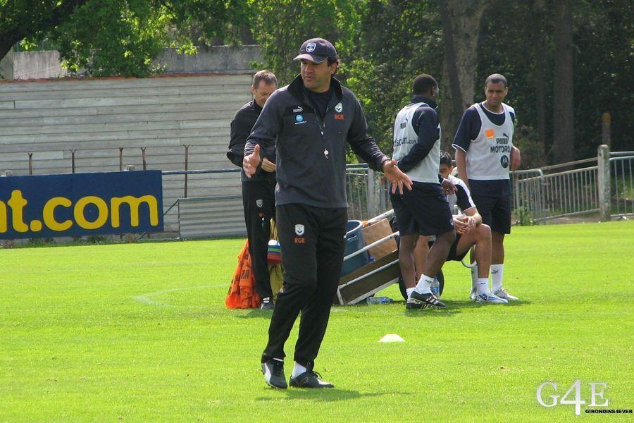 Ricardo entrainement Girondins de Bordeaux