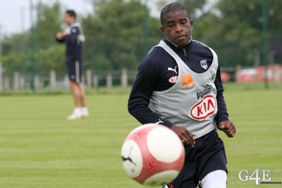Rio Mavuba Girondins Bordeaux ballon