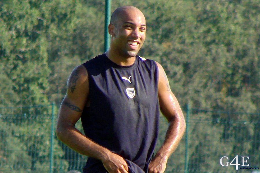 Stéphane Dalmat entrainement souriant Bordeaux