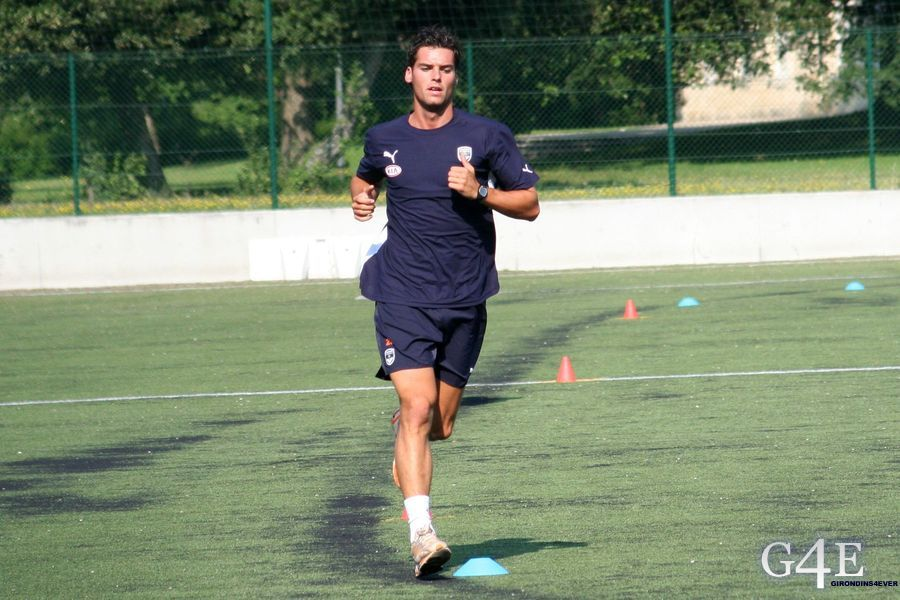 Tests physiques Girondins de Bordeaux Yoann Gourcuff