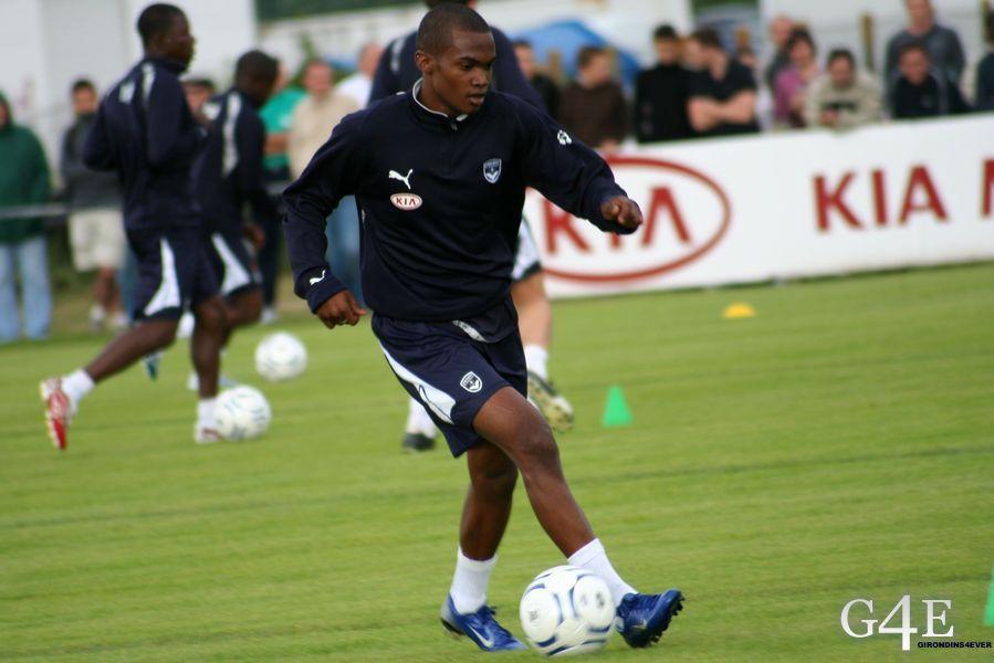 Wilfried Moimbe Bordeaux entrainement