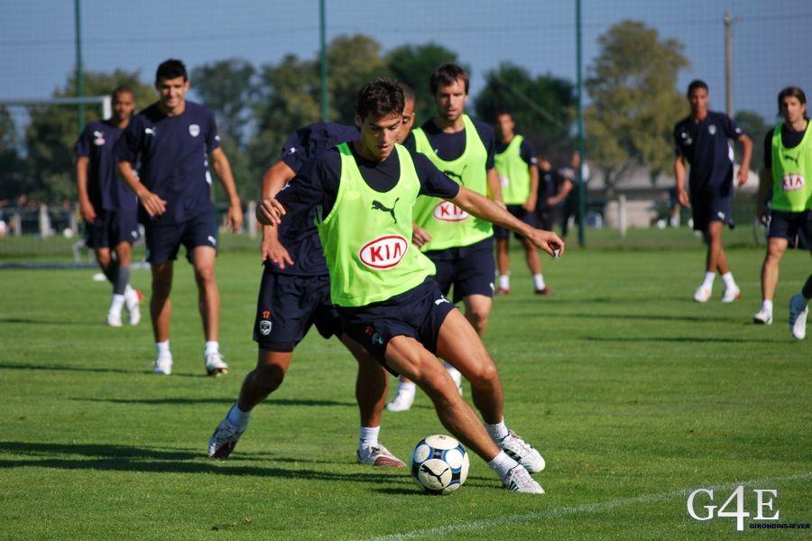 Yoann Gourcuff entrainement Girondins de Bordeaux (1)
