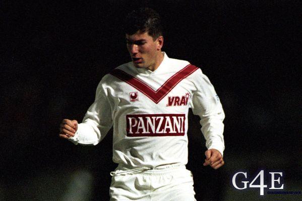 Zinedine Zidane joueur Bordeaux