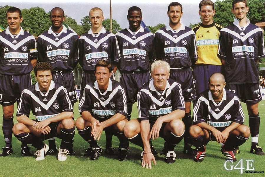 Football Bordeaux 2000-01