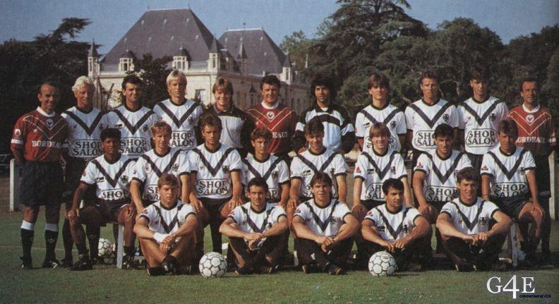 Equipe Bordeaux 1991-92