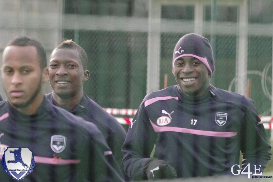 Traoré et Poko, rires