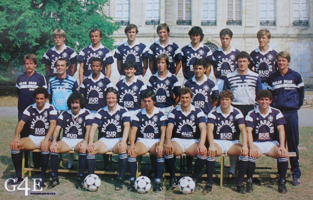 Equipe Bordeaux 1984-85