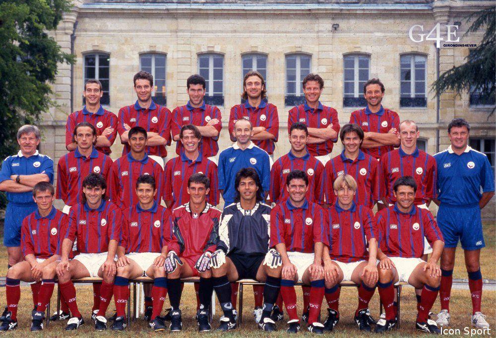 Equipe Bordeaux 1995-96