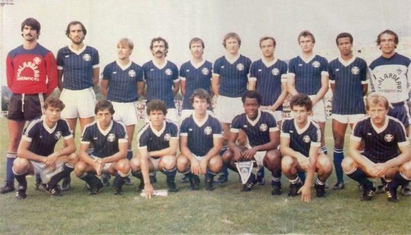 Equipe Girondins 82-83