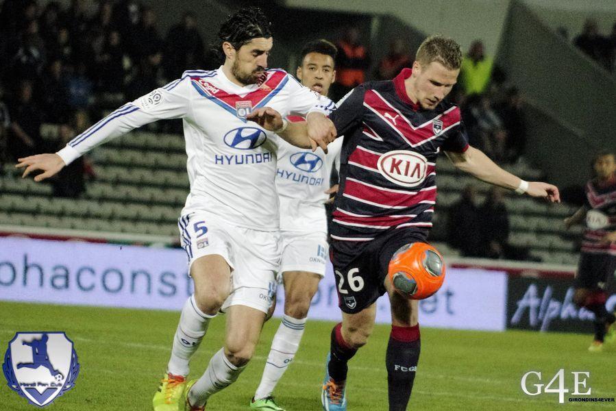 Sertic duel Bisevac Lyon