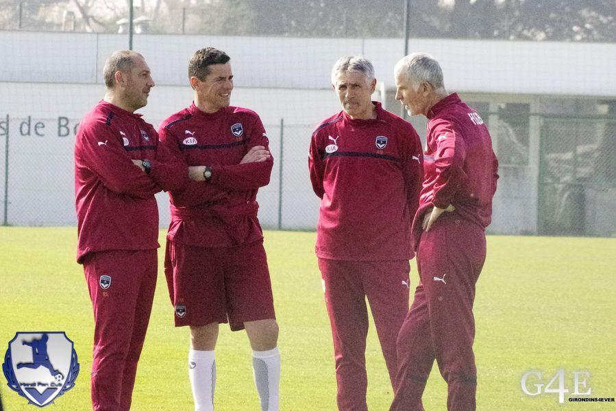Staff technique (Bénédet, Lobello, Mantaux et Gillot)