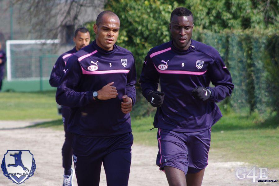 Henrique et Sané, footing