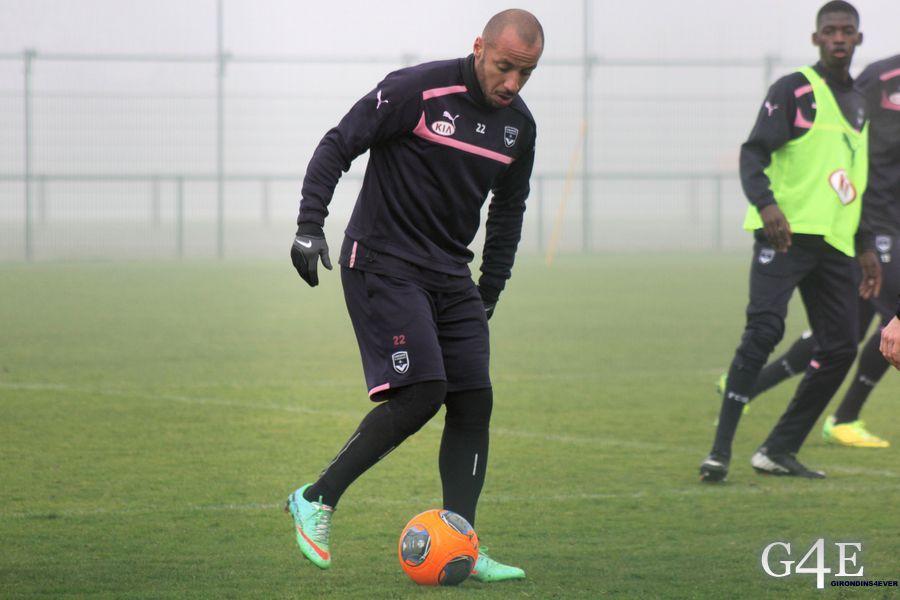 Julien Faubert balle au pied