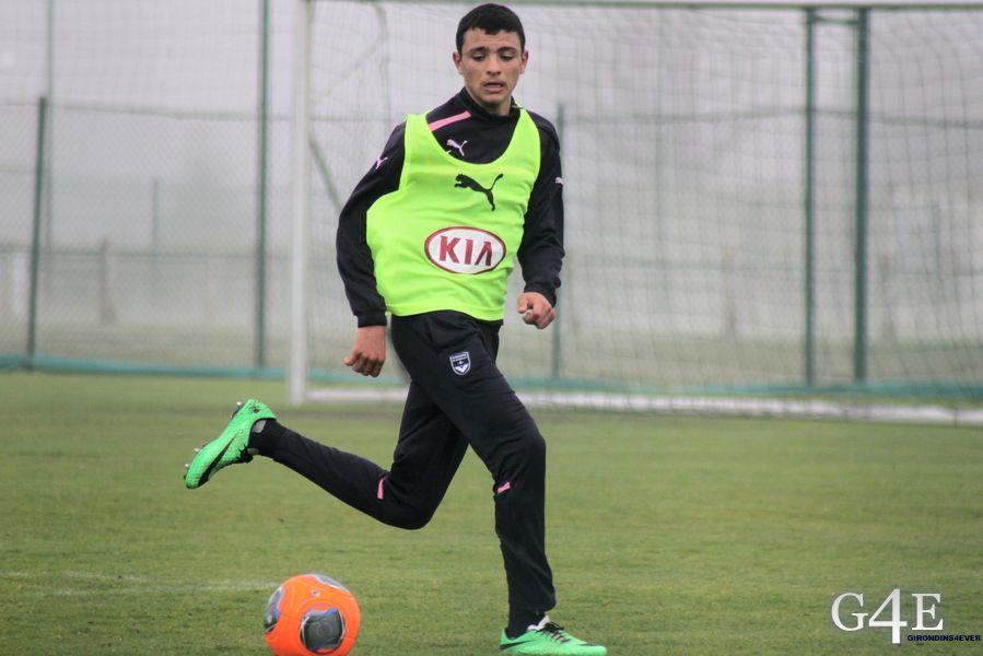 Hazem Haj-Hassen avec ballon