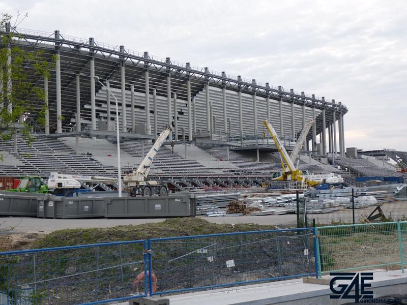 Chantier stade – Tribune Est