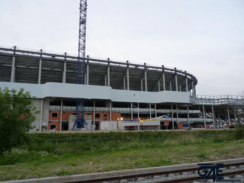 Chantier stade – vue Sud 2