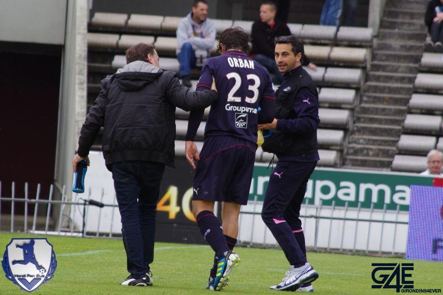 Orban blessure Guingamp