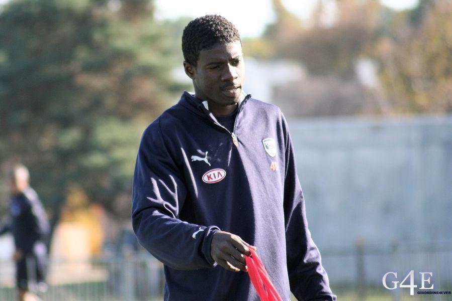 Bruno Ecuela Manga entrainement Bordeaux