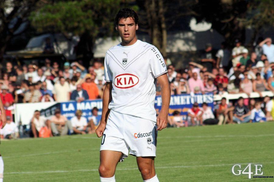 Yoann Gourcuff amical Girondins Bordeaux