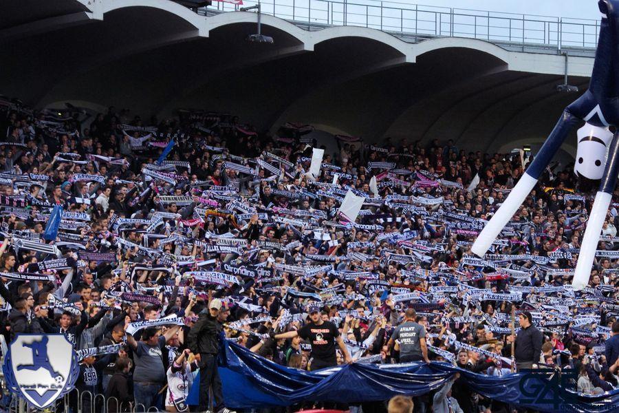 Supporters Bordeaux-Marseille