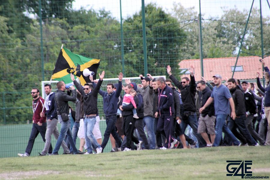 Défaite Supporters Haillan avant Bordeaux-Marseille 10