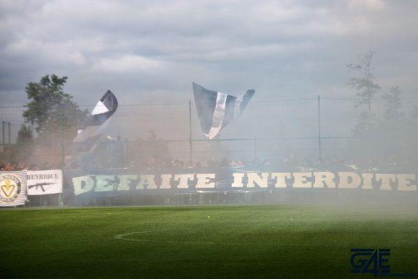 Défaite Supporters Haillan avant Bordeaux-Marseille 2