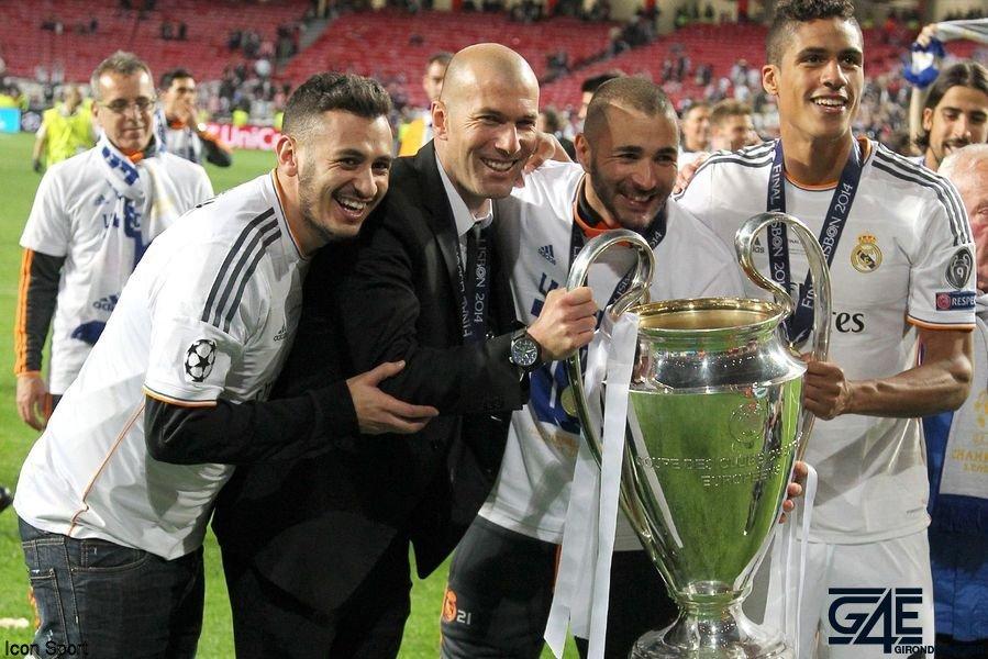 Zidane Benzema Varane Icon