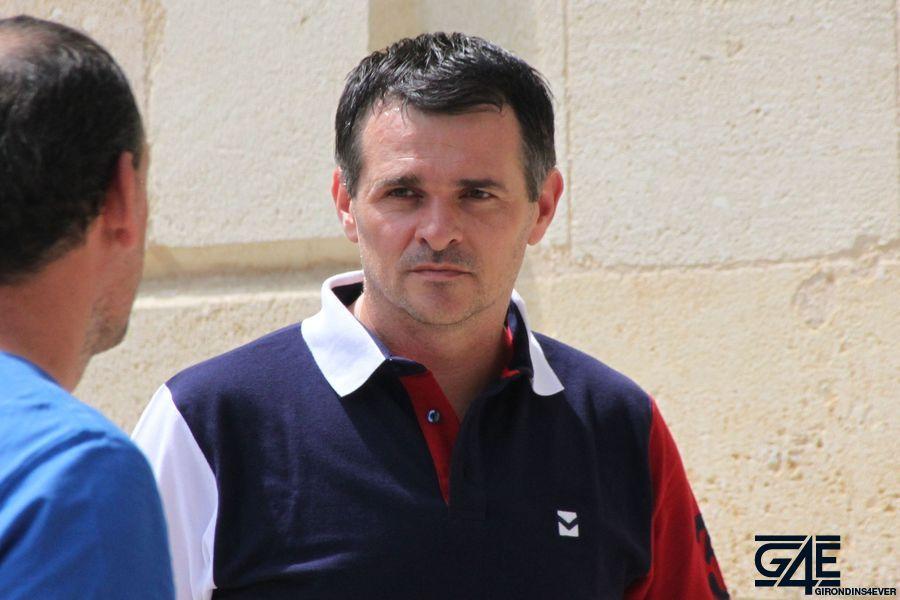 Willy Sagnol face à Laurent Brun