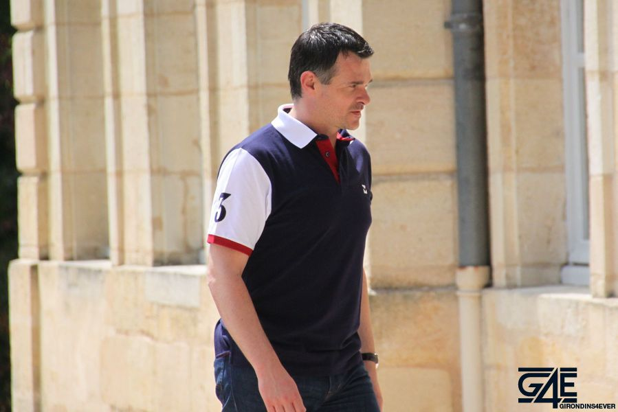 Willy Sagnol vers le chateau
