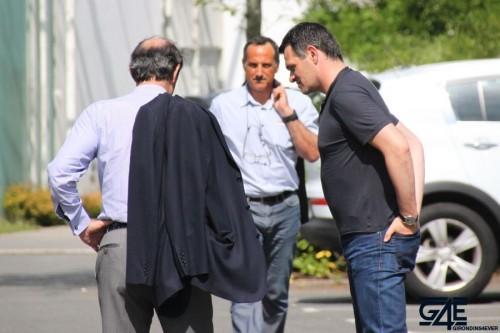 Willy Sagnol-Sylvain Matrisciano-Jean-Louis Triaud discussions