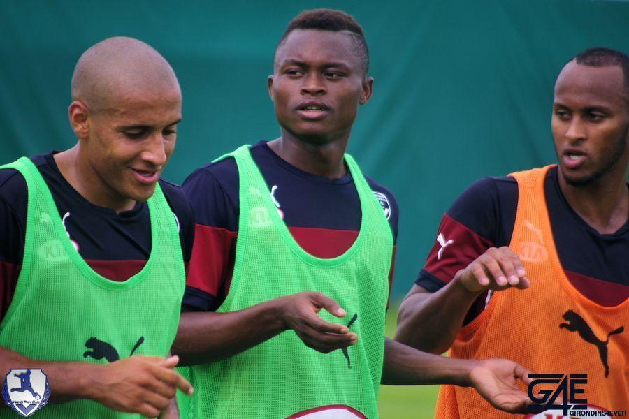 Conversation Djigla, Touré et Khazri