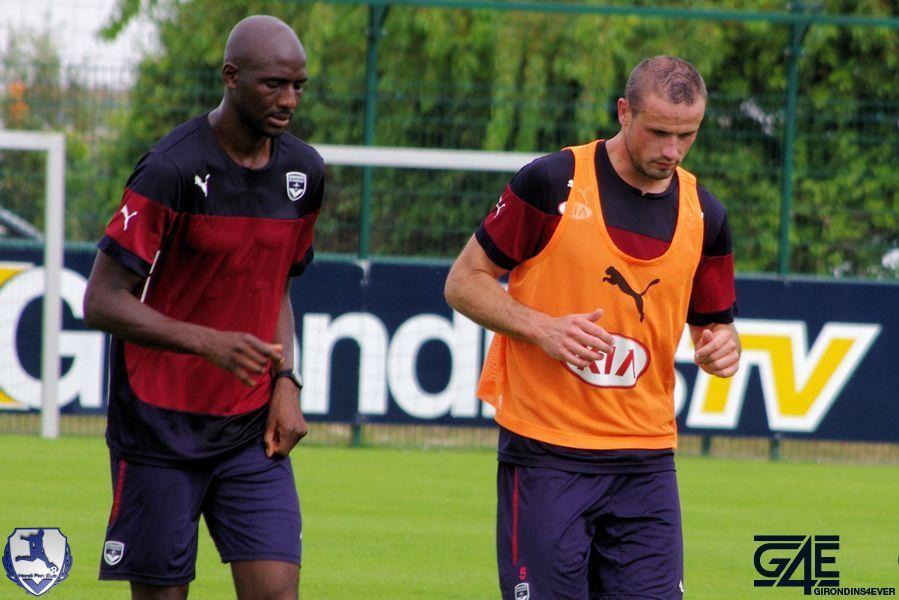 Alou Diarra et Nicolas Pallois